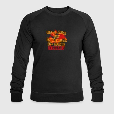 halloween scary suesses sour trick FEBRUARY - Men's Organic Sweatshirt by Stanley & Stella