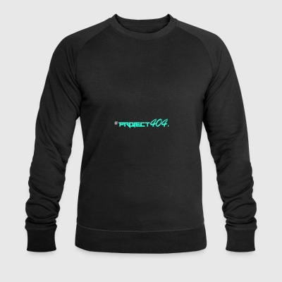 project404 final teal white - Men's Organic Sweatshirt by Stanley & Stella
