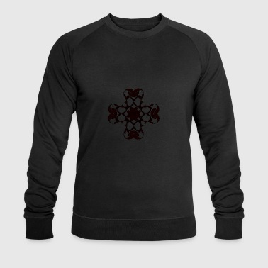 Fleurie Cross - Men's Organic Sweatshirt by Stanley & Stella