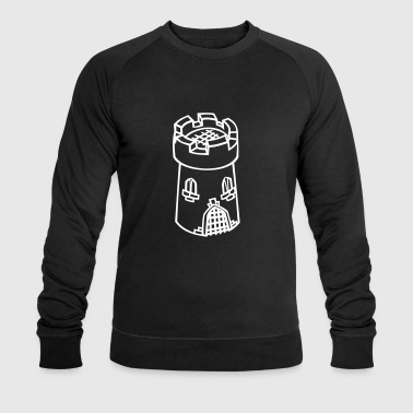 Middle Ages tower - Men's Organic Sweatshirt by Stanley & Stella