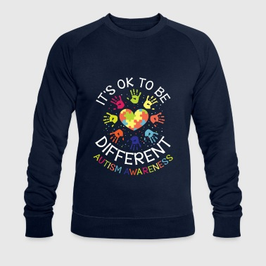 It's ok to be different - Autism Awareness - Sweat-shirt bio Stanley & Stella Homme