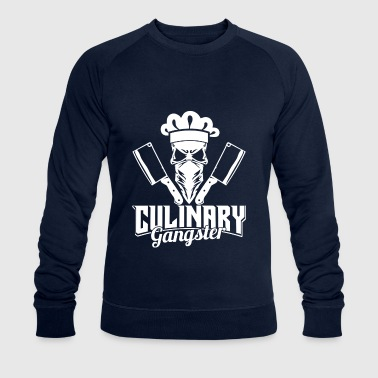 Culinary Gangster - butcher & skull cook - Sudadera ecológica hombre de Stanley & Stella