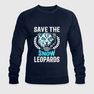 Save the Snow Leopards - animal extinction - Sudadera ecológica hombre de Stanley & Stella