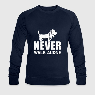 Never walk alone - Sweat-shirt bio Stanley & Stella Homme