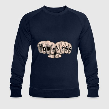Homeless, Homeless - Fingerprint - Men's Organic Sweatshirt by Stanley & Stella
