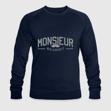 Monsieur-maladroit - Sweat-shirt bio Stanley & Stella Homme