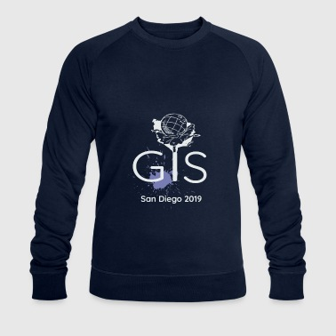 GIS San Diego Geography User Conference - Men's Organic Sweatshirt by Stanley & Stella
