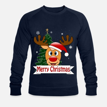 Rudolph Rudolph le renne - Sweat-shirt bio Homme