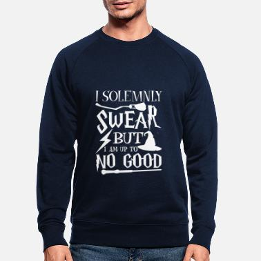 I Solemnly Swear I solemnly swear but i am up to no good - Männer Bio Pullover