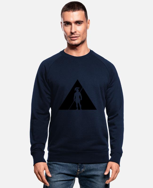 Sparta Hoodies & Sweatshirts - Spartaneu - Men's Organic Sweatshirt navy