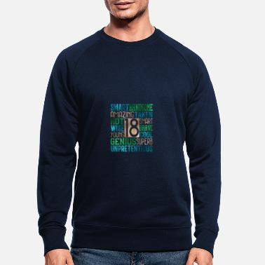 Teenager Teenagers 18 participants - Sweat-shirt bio Homme