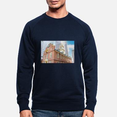 Massachusetts Boston Old State House Freedom Trail - Männer Bio Pullover
