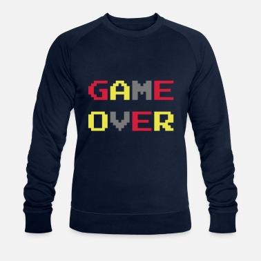 Game Game Over / Geek / Gaming / Gamer / Gamer / Player - Sudadera orgánica hombre