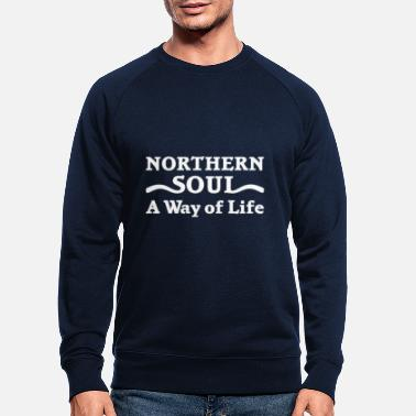 Northern Soul Northern Soul Way of Life - Men's Organic Sweatshirt