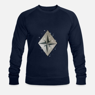 Wind Rose Wind Rose - Men's Organic Sweatshirt