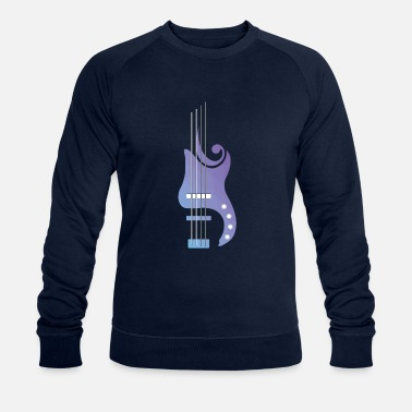 Bass Bass Lover | Bass | Colorful - Men's Organic Sweatshirt
