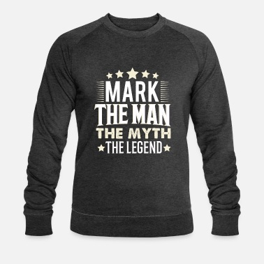 Mark Something mark - Men's Organic Sweatshirt