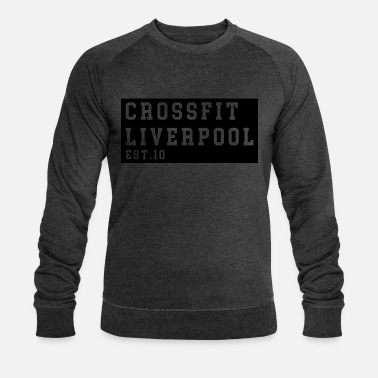 Cross Fit Liverpool - Blockdruck - Männer Bio Pullover
