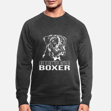 Boxer BOXER Life is better - Männer Bio Pullover