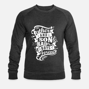 Shop Father and Son Bad Boys Forever - Sweat-shirt bio Homme