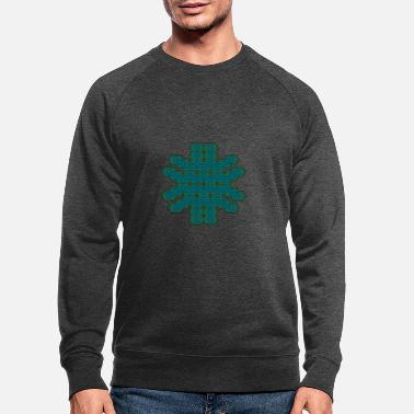 Party Psychedelic Pattern Tee Shirt Geometry Goa Party - Men's Organic Sweatshirt