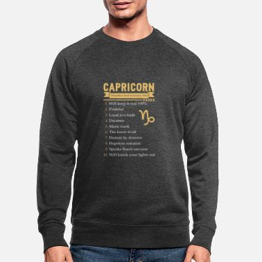 Capricorne Capricorne - Capricorne - Sweat-shirt bio Homme