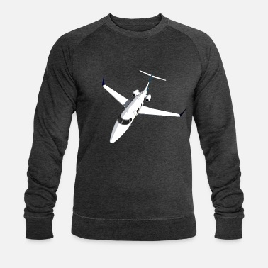 Jet Private Jet Airplane Jet Jet - Mannen bio sweater
