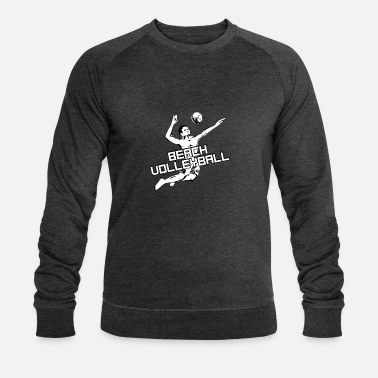 Beach Volley Beach volley - beach volley - volley - Sweat-shirt bio Homme