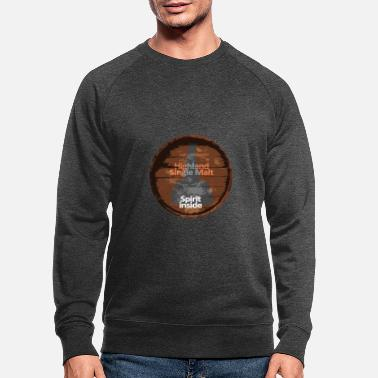 Single Whisky Whiskyfass Scotch Single Malt - Männer Bio Pullover