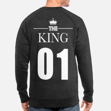 Queen KING 01 (King & Queen) - Men's Organic Sweatshirt