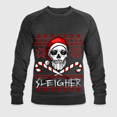 Sleigher Ugly Christmas Sweater - Sweat-shirt bio Stanley & Stella Homme