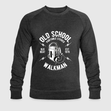 Old School Walkman - Men's Organic Sweatshirt by Stanley & Stella