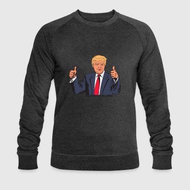 TRUMP BILLIONS AND BILLIONS - Sweat-shirt bio Stanley & Stella Homme