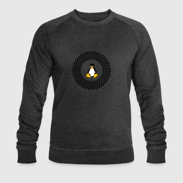 ordinateur pc cercle Penguin - Sweat-shirt bio Stanley & Stella Homme