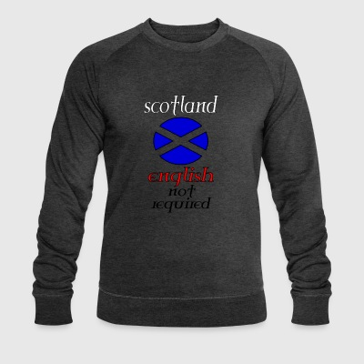 scotland english not re - Men's Organic Sweatshirt by Stanley & Stella