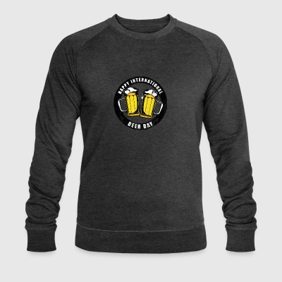 International Beer Day - Men's Organic Sweatshirt by Stanley & Stella
