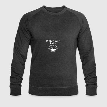 Watch out - Men's Organic Sweatshirt by Stanley & Stella