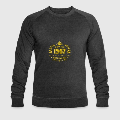 original since 1967 simply the best 50th birthday - Men's Organic Sweatshirt by Stanley & Stella