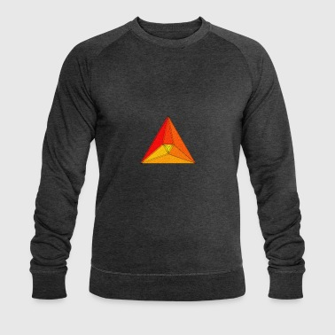 Enzoma - gradient in the triangle - Men's Organic Sweatshirt by Stanley & Stella