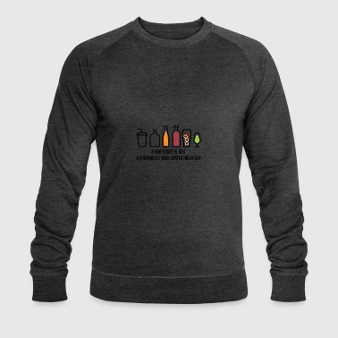 Pharmacy / Pharmacist: A Bartender Is Just A - Men's Organic Sweatshirt by Stanley & Stella