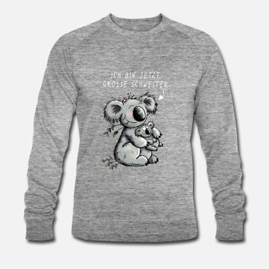 Sibling Koalas I sister brother gift - Men's Organic Sweatshirt by Stanley & Stella
