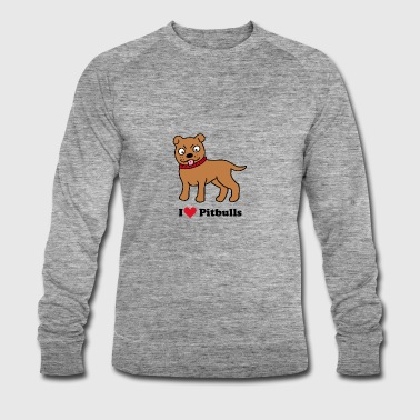 dog - Men's Organic Sweatshirt by Stanley & Stella