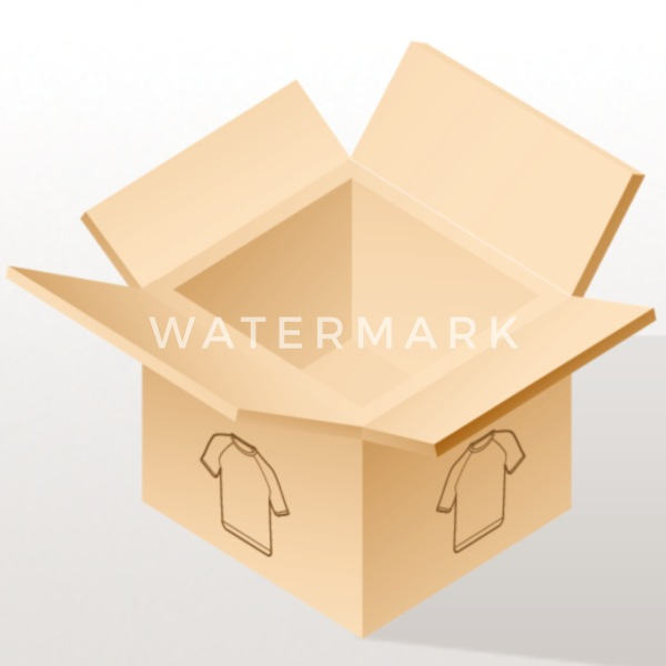 Association Coques iPhone - bleu carré - Coque iPhone 7 & 8 blanc/noir
