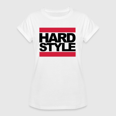 Hardstyle Box Rave Quote - Frauen Oversize T-Shirt