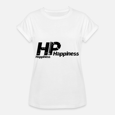 Happiness HP Happiness Happiness - Oversize T-skjorte for kvinner