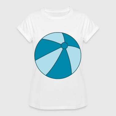Beachball beachball - Vrouwen oversize T-shirt