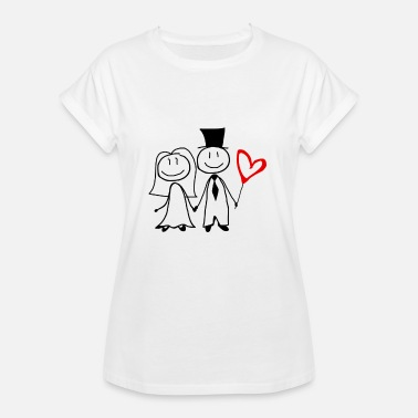 Wedding Party Wedding couple Wedding Hen party - Women's Oversize T-Shirt