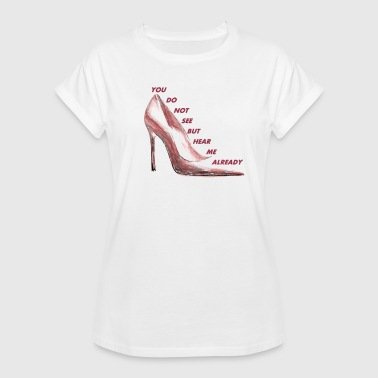 Highheeled Shoes highheel - Women's Oversize T-Shirt