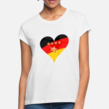 Germany Hertz 4 + 1 star - Women's Loose Fit T-Shirt