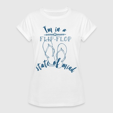 Flip-flop summer time! - Women's Oversize T-Shirt
